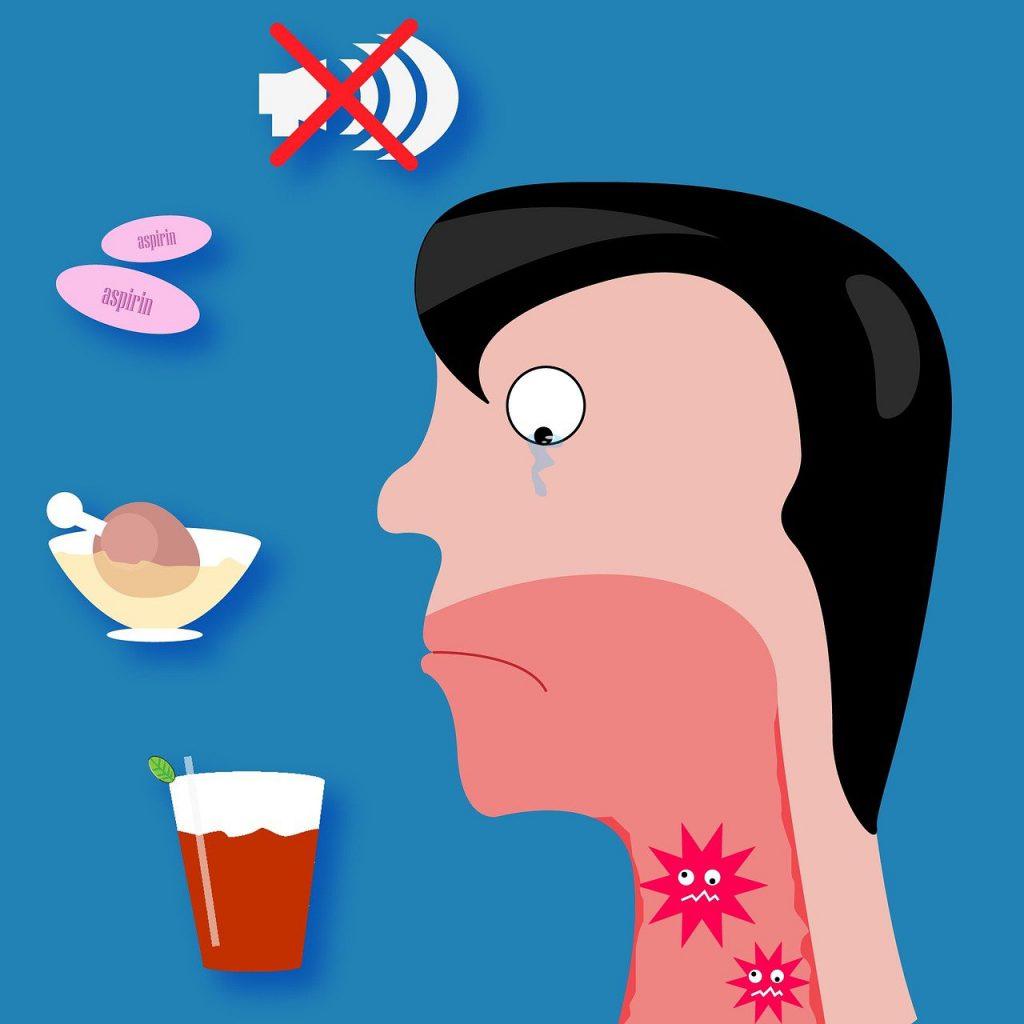 טיפול בדלקת גרון אפשר לעבור את זה בקלות.